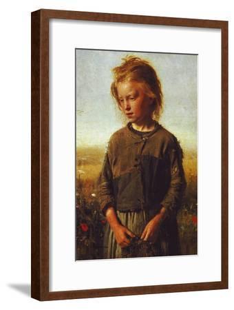 Fisher Girl, 1874-Ilya Efimovich Repin-Framed Giclee Print