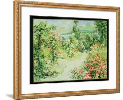 The Conservatory-Pierre-Auguste Renoir-Framed Giclee Print