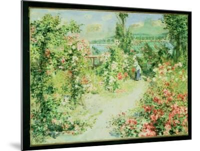 The Conservatory-Pierre-Auguste Renoir-Mounted Giclee Print