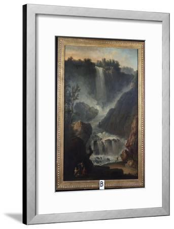 The Falls of Terni-Claude Joseph Vernet-Framed Giclee Print