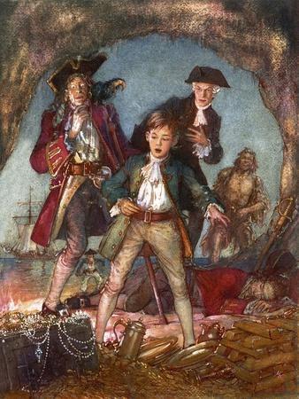 Treasure Island-John Millar Watt-Framed Giclee Print