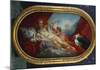 Venus and Cupid-Francois Boucher-Mounted Giclee Print