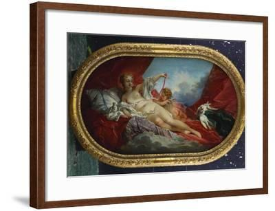 Venus and Cupid-Francois Boucher-Framed Giclee Print