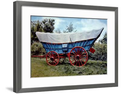 Conestoga Wagon-American School-Framed Giclee Print