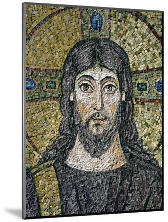 The Face of Christ-Byzantine School-Mounted Premium Giclee Print