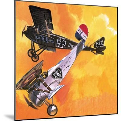 Nieuport 24 Bis-Wilf Hardy-Mounted Giclee Print
