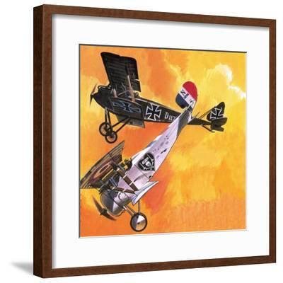 Nieuport 24 Bis-Wilf Hardy-Framed Giclee Print