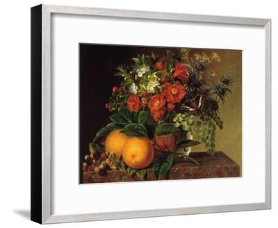 Still Life, 1834-Johan Laurentz Jensen-Framed Giclee Print