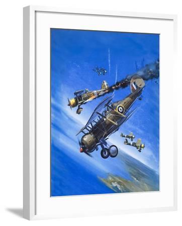 Gloster Gladiator-Wilf Hardy-Framed Giclee Print