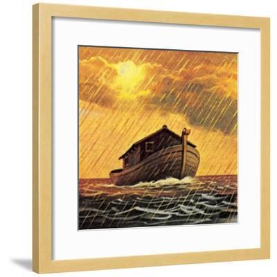 Noah's Ark-English School-Framed Giclee Print