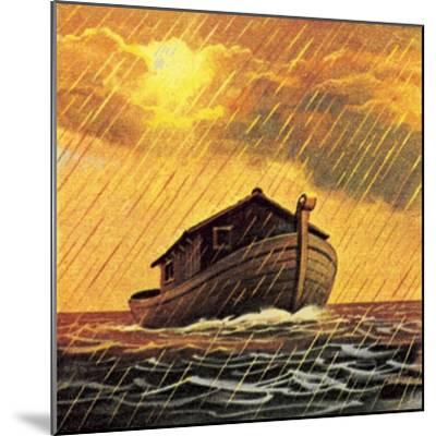 Noah's Ark-English School-Mounted Giclee Print