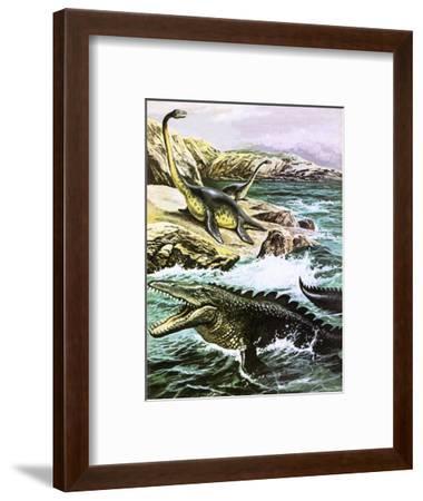 Plesiosaurus-Payne-Framed Premium Giclee Print