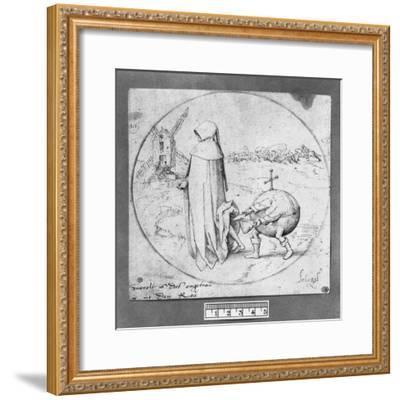Misanthrope-Pieter Bruegel the Elder-Framed Giclee Print