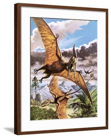 Pteranodon-Payne-Framed Giclee Print