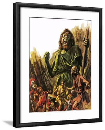 The Cyclops-Payne-Framed Giclee Print