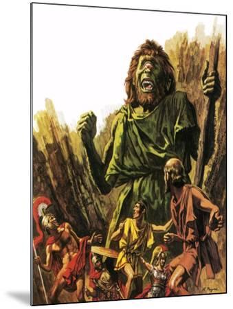 The Cyclops-Payne-Mounted Giclee Print