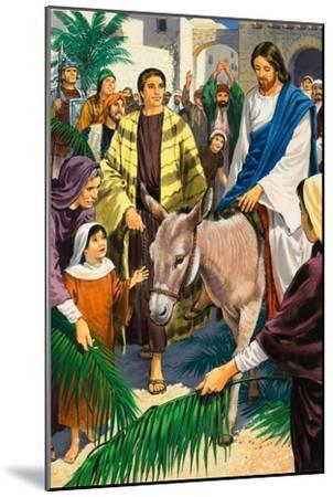 Palm Sunday-Clive Uptton-Mounted Giclee Print
