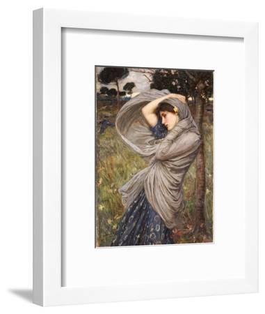 Boreas, 1903-John William Waterhouse-Framed Premium Giclee Print