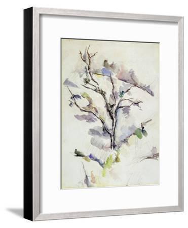 The Oak-Paul C?zanne-Framed Giclee Print