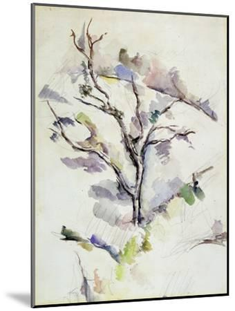 The Oak-Paul C?zanne-Mounted Giclee Print