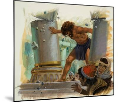 Samson-Andrew Howat-Mounted Giclee Print