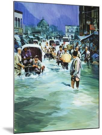 Indian Monsoon-Gerry Wood-Mounted Giclee Print