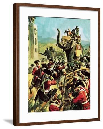 Robert Clive-English School-Framed Giclee Print