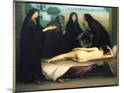 The Sin-Julio Romero de Torres-Mounted Giclee Print