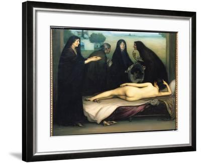 The Sin-Julio Romero de Torres-Framed Giclee Print