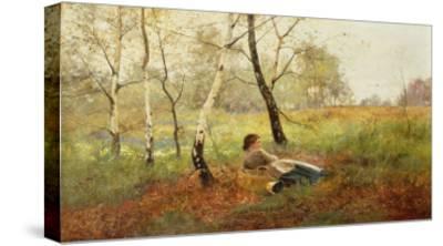 Resting-Benjamin D. Sigmund-Stretched Canvas Print