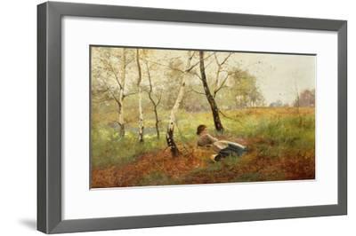 Resting-Benjamin D. Sigmund-Framed Giclee Print