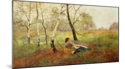 Resting-Benjamin D. Sigmund-Mounted Giclee Print