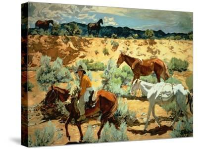 The Southwest-Walter Ufer-Stretched Canvas Print