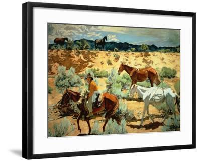 The Southwest-Walter Ufer-Framed Giclee Print