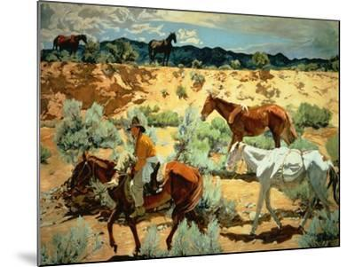The Southwest-Walter Ufer-Mounted Giclee Print