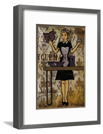 Gourmand - the Chief II-Pascal Normand-Framed Art Print