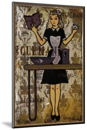 Gourmand - the Chief II-Pascal Normand-Mounted Art Print