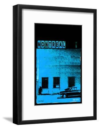 MTL Vice City - Blue-Pascal Normand-Framed Art Print