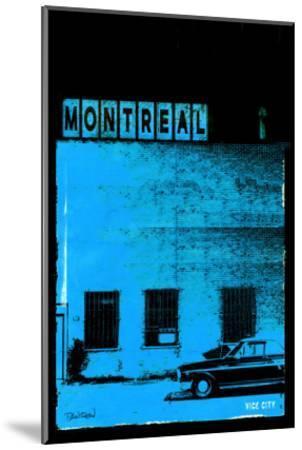 MTL Vice City - Blue-Pascal Normand-Mounted Art Print