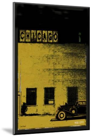 Vice City - Chicago grey-Pascal Normand-Mounted Art Print