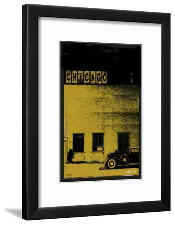 Vice City - Chicago grey-Pascal Normand-Framed Art Print