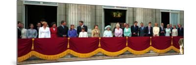 Royal Family on Queen Mother's 100th Birthday, Friday August 5, 2000--Mounted Photographic Print