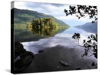Tarbet Isle on Loch Lomond, Loch Lomond and the Trossachs National Park-Feargus Cooney-Stretched Canvas Print