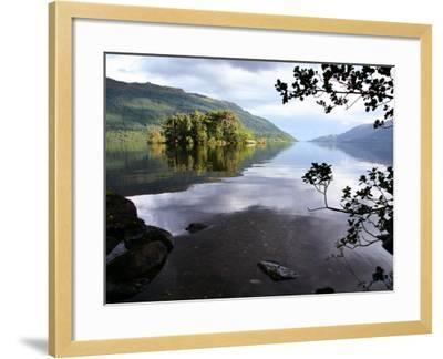 Tarbet Isle on Loch Lomond, Loch Lomond and the Trossachs National Park-Feargus Cooney-Framed Photographic Print