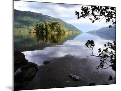 Tarbet Isle on Loch Lomond, Loch Lomond and the Trossachs National Park-Feargus Cooney-Mounted Photographic Print