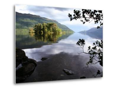 Tarbet Isle on Loch Lomond, Loch Lomond and the Trossachs National Park-Feargus Cooney-Metal Print