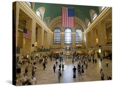 Grand Central Terminal-Christopher Groenhout-Stretched Canvas Print