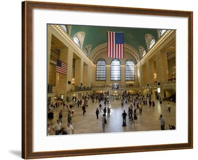 Grand Central Terminal-Christopher Groenhout-Framed Photographic Print