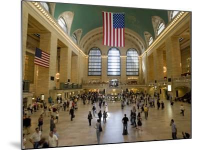 Grand Central Terminal-Christopher Groenhout-Mounted Photographic Print