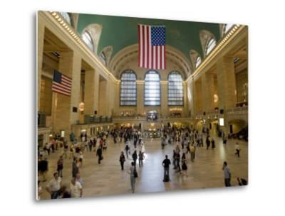 Grand Central Terminal-Christopher Groenhout-Metal Print